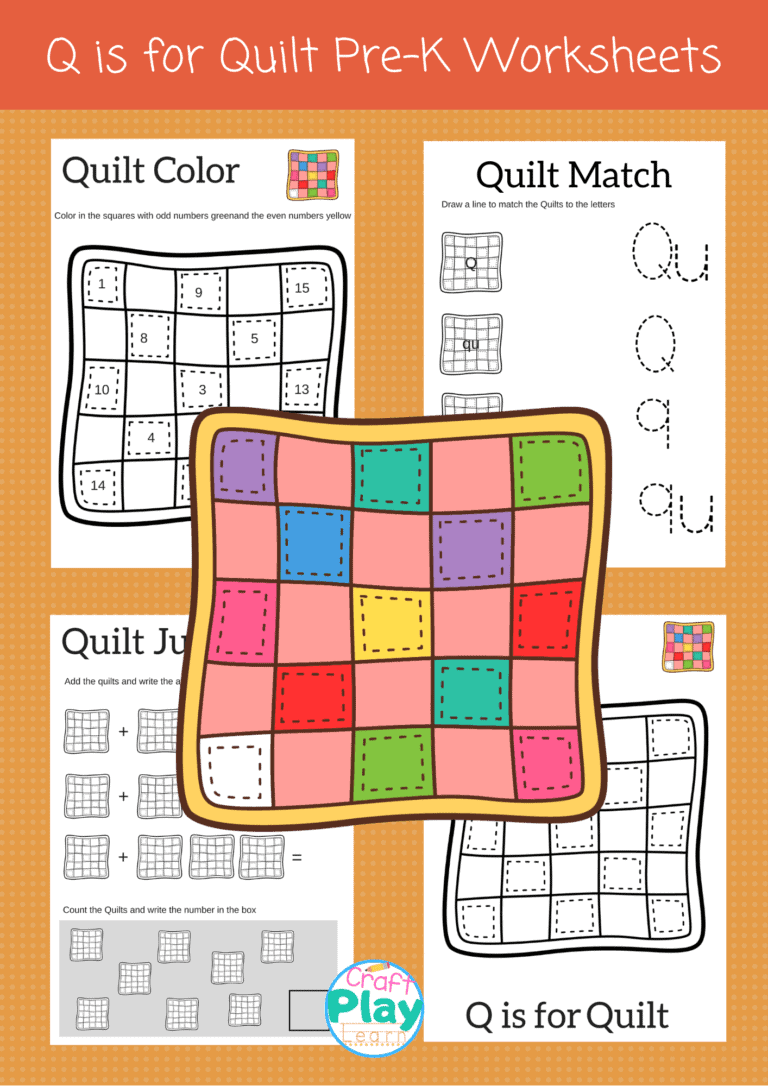 letter q worksheets for preschoolers