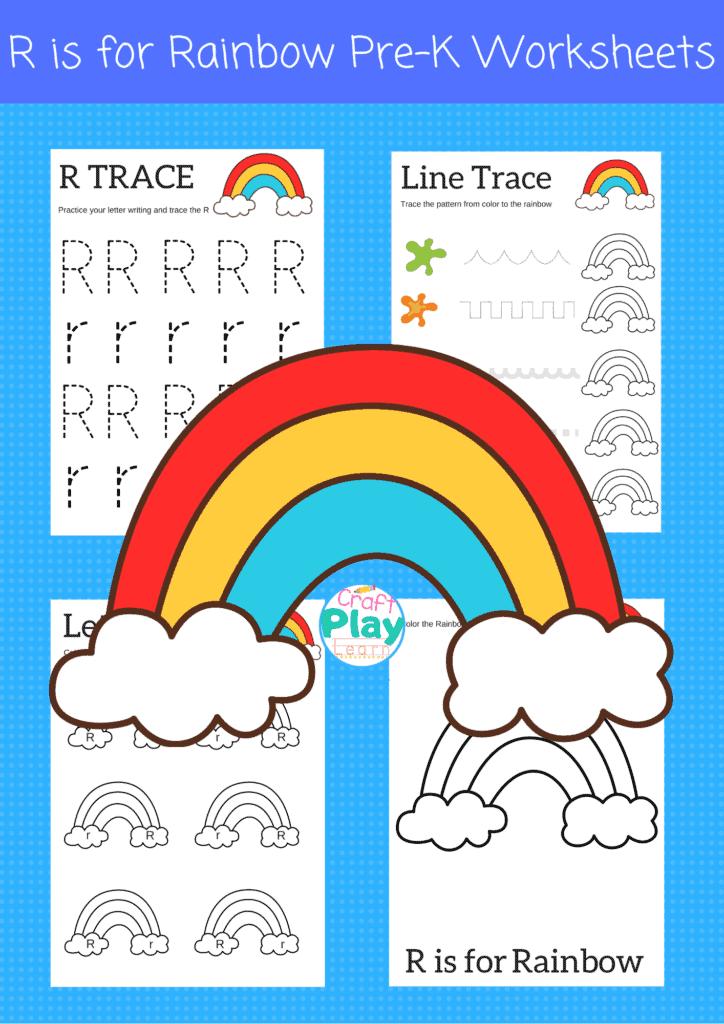 letter r worksheets for preschool