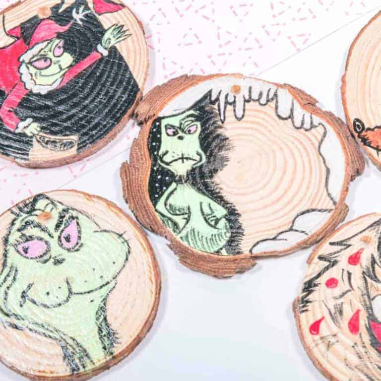 the grinch who stole christmas craft
