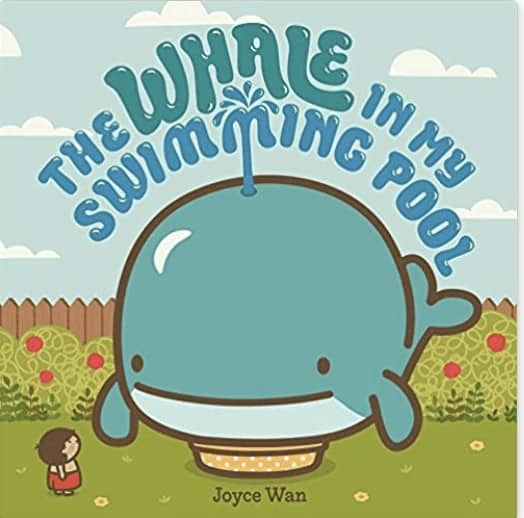 the whale in the swimming pool