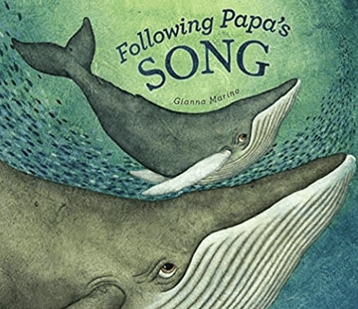 following papas song a book about whales