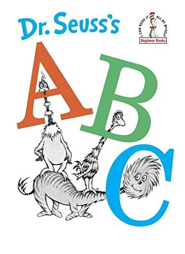 dr seuss a b c book
