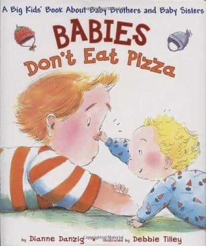 babies don't eat pizza book about babu brothers and baby sisters