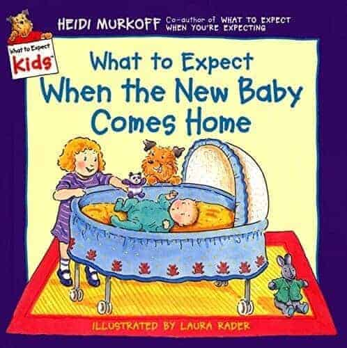 what to expect new baby book for children