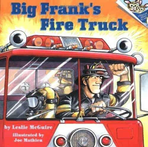 big franks fire truck a book about fire engines or fire trucks