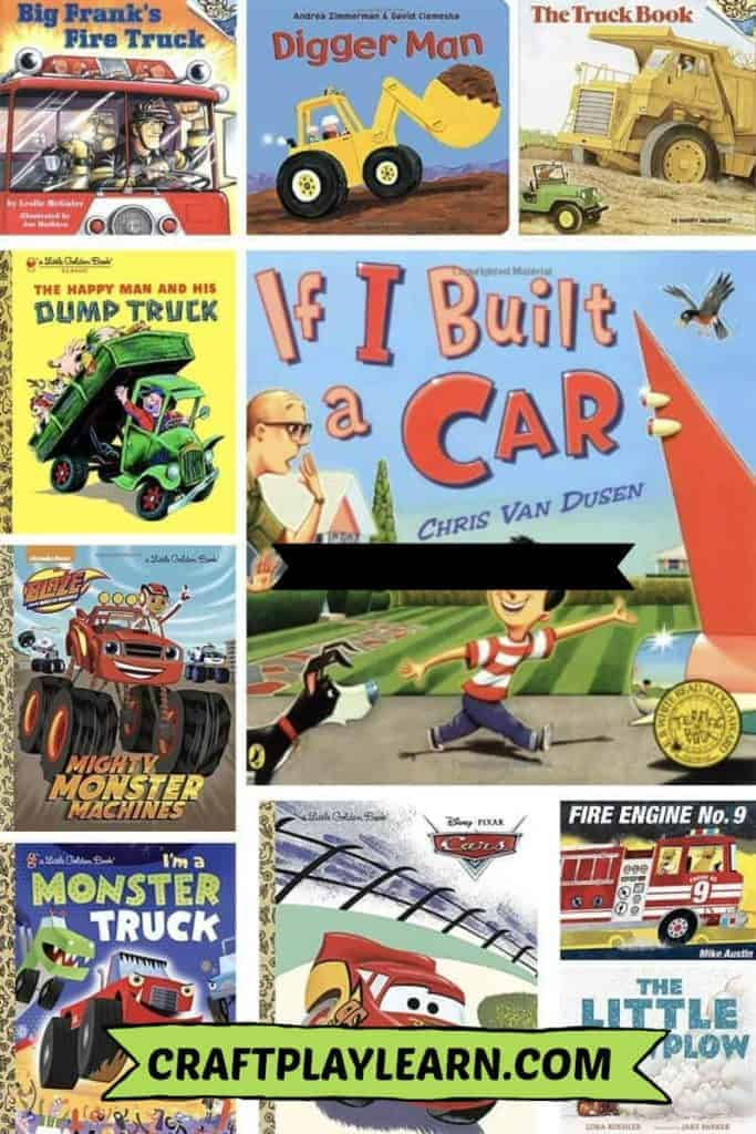childrens cars and truck books