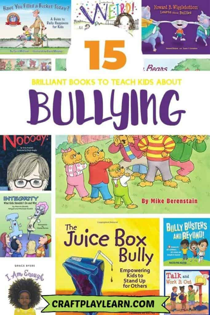 books to teach kids about bullying