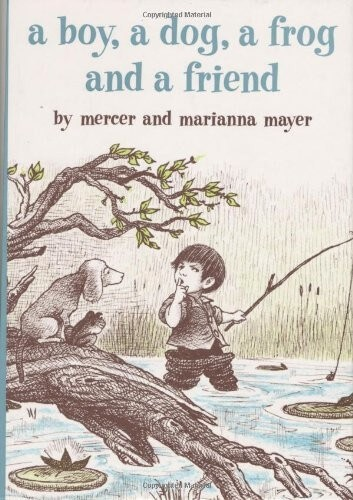 a boy a dog and a frog book about frogs