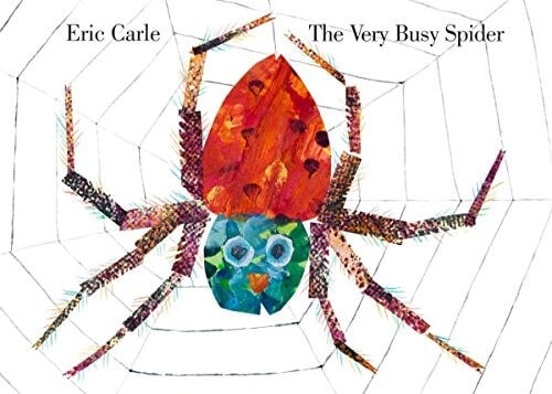 the very busy spider by eric carle children's book about spiders