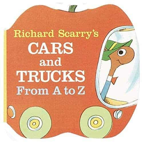 richard scarrys cars and trucks from a to z books for toddlers