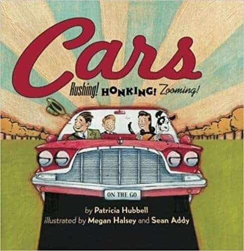 cars rushing working zooming a kids book about cars