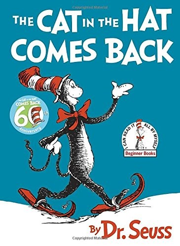 the cat in the hat comes back book by dr seuss for kids