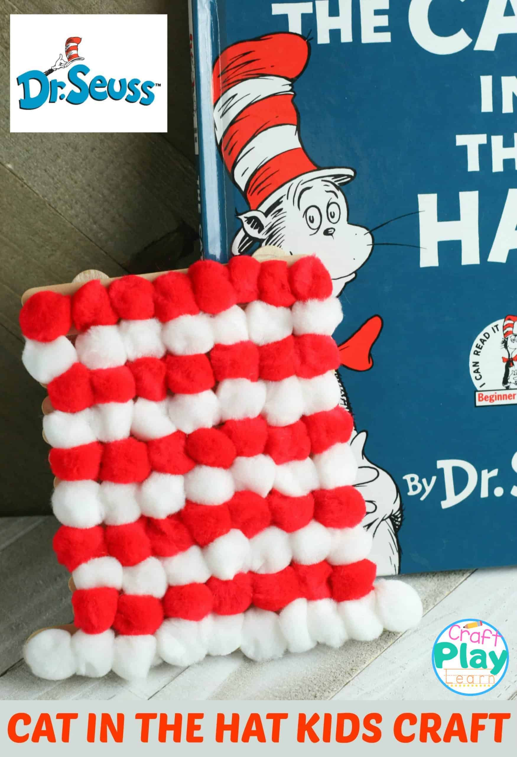 how to make a cat in the hat hat craft