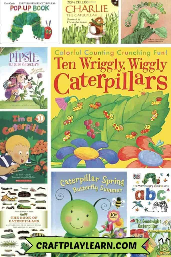 childrens books about caterpillars