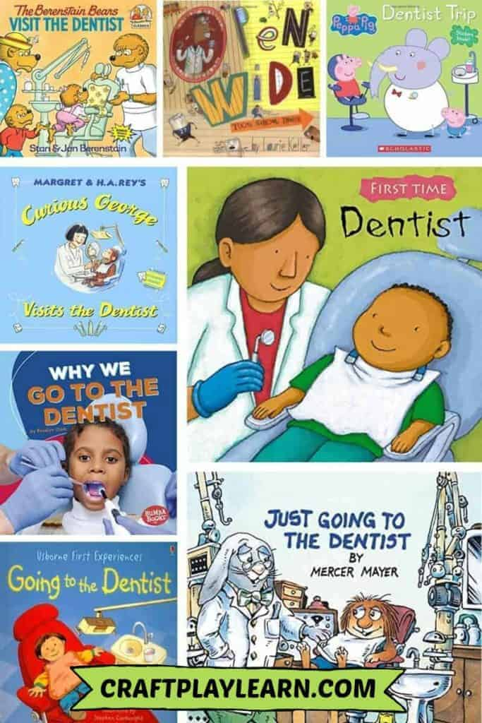 kids books about going to the dentist