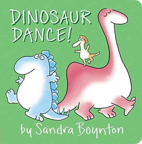 dinosaur dance a book for toddlers about dinosaurs