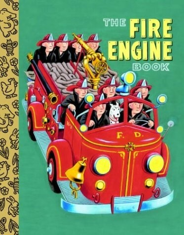 the fire engine book for kids