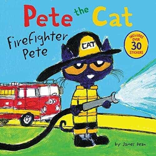 pete the cat fire fighter pete book for kids