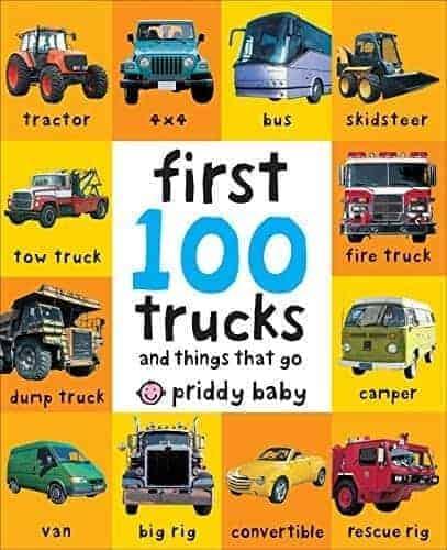 first 100 trucks for kids