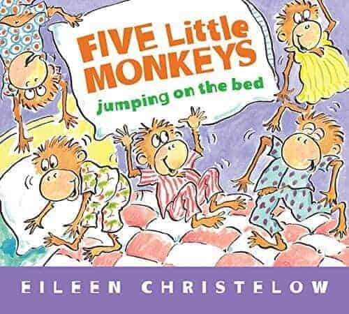 five little monkeys jumping on the bed book for toddlers to read