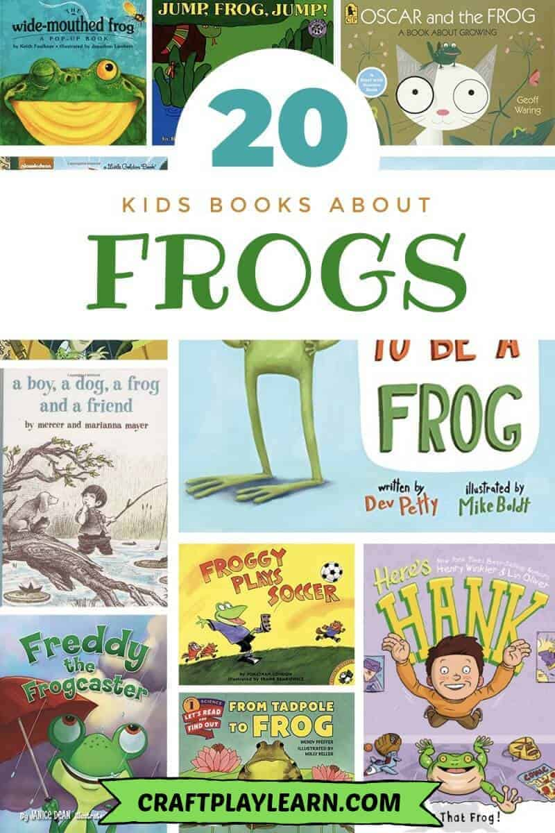 kids frog books