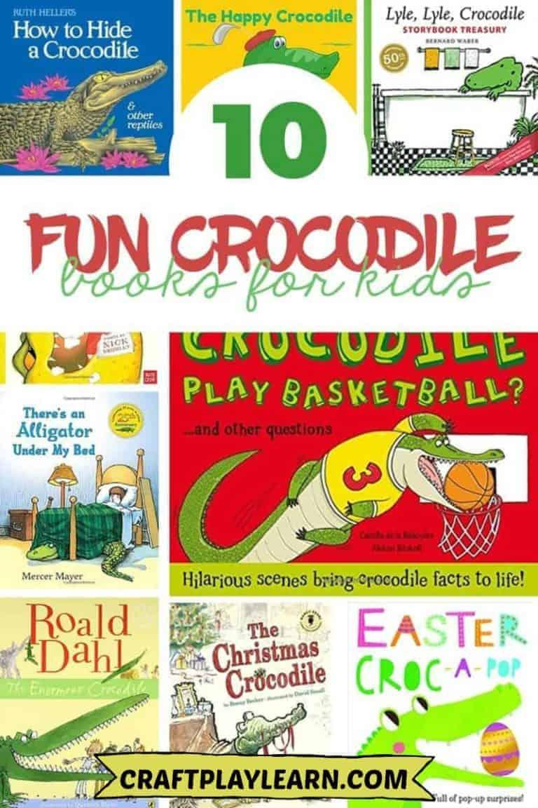 childrens crocodile books