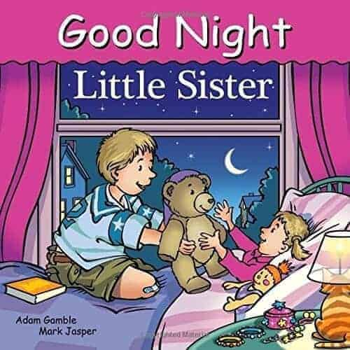 good night little sister a book about being a sister or big brother