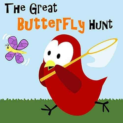 the great butterfly hunt a fun kids book with butterflies in it