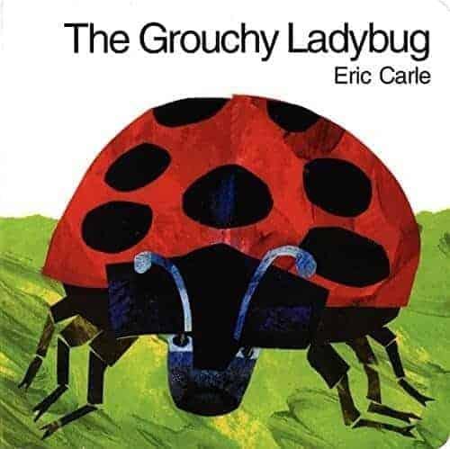 grouchy ladybug book by eric carle