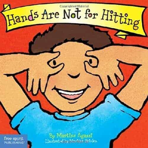 hands are not for hitting book for toddlers