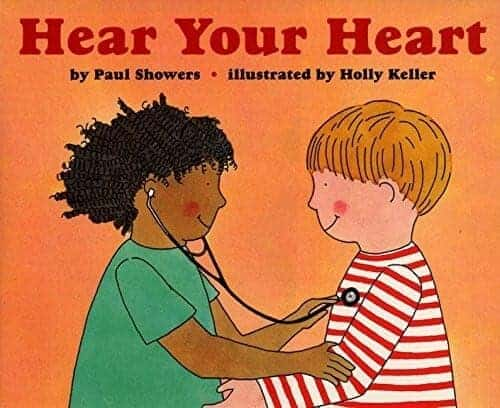 hear your heart a book about the heart for kids