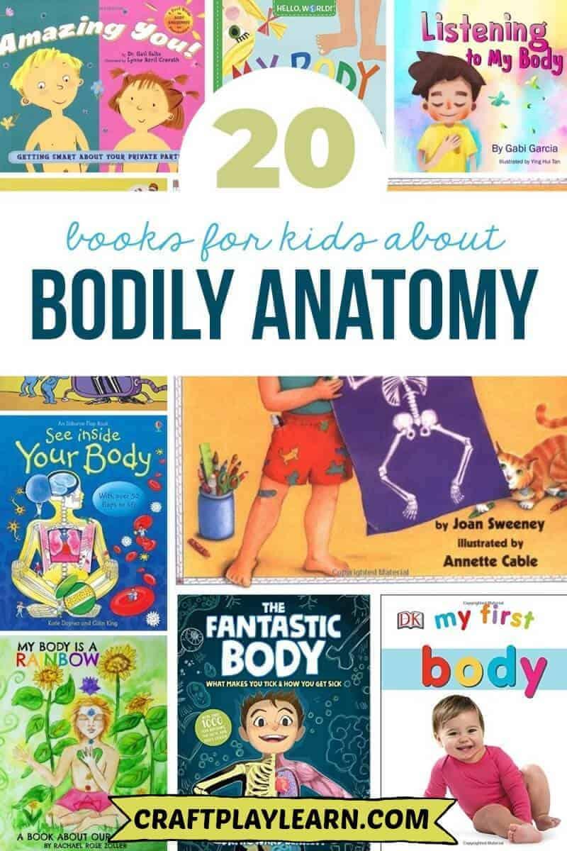 kids books on anatomy