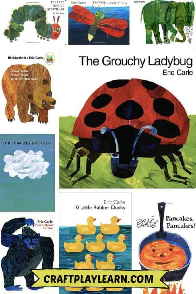 eric carle books for kids