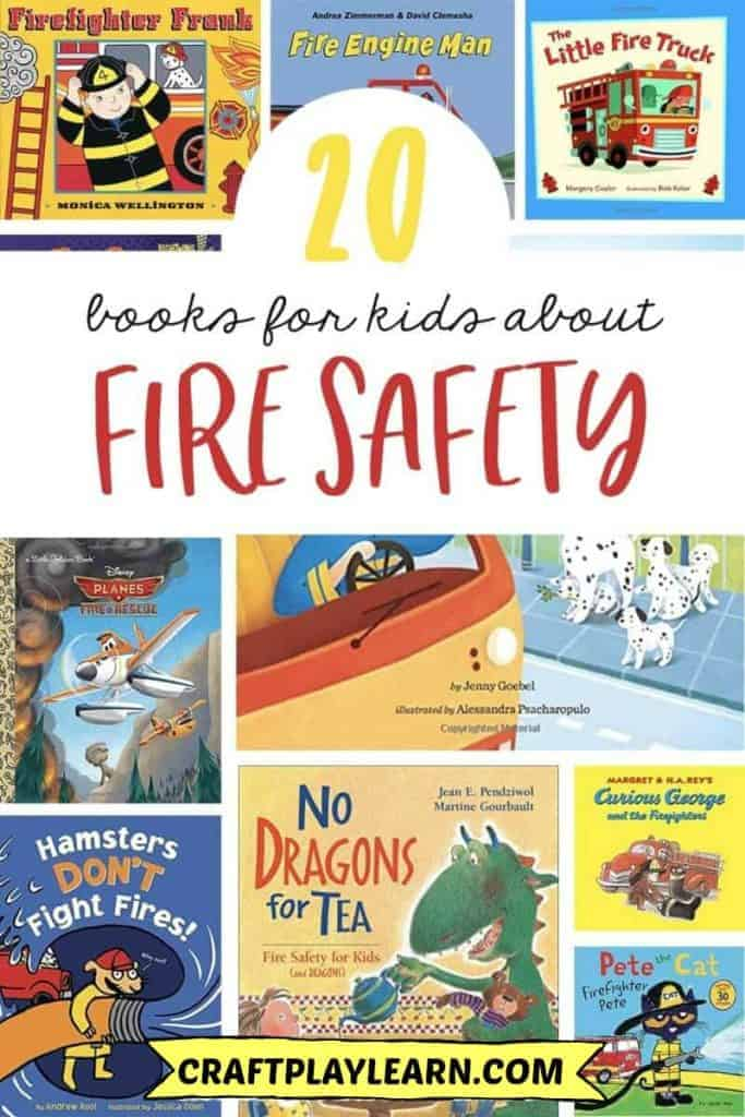 books for children about fire safety