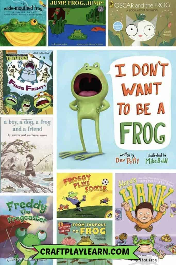 kids books about frogs