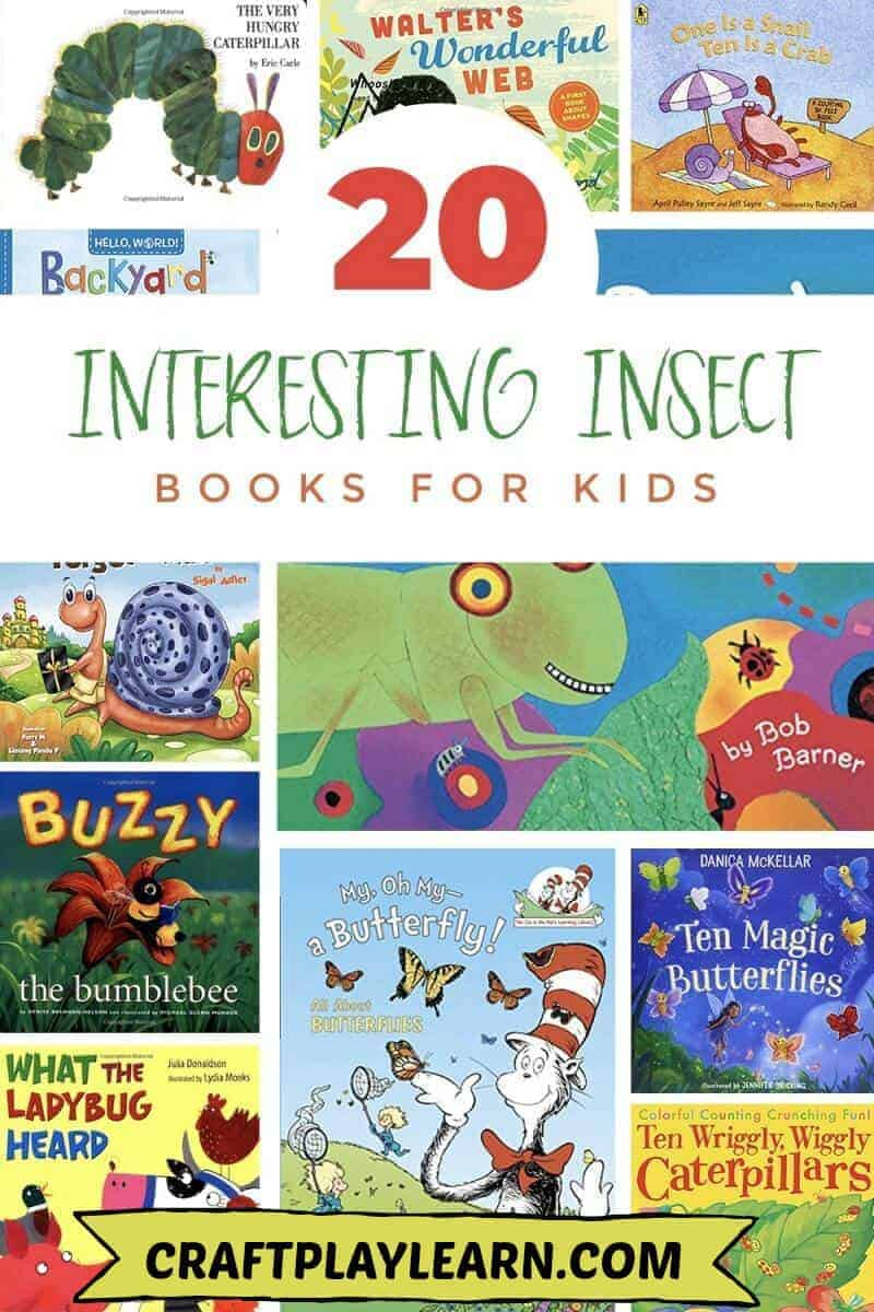 kids books about insects