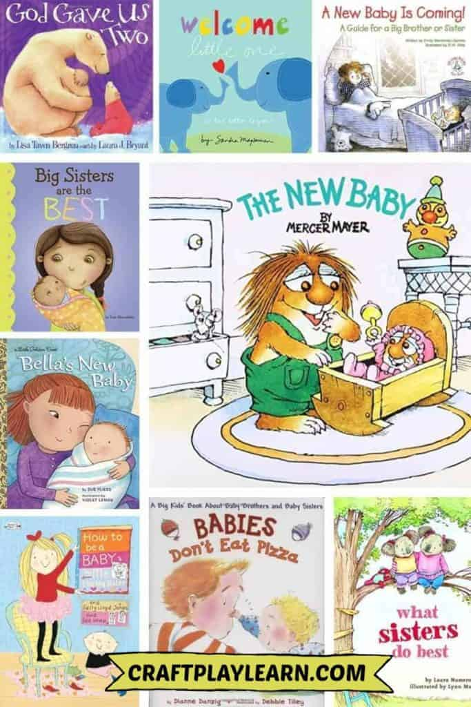 children's books about a baby brother or new sister