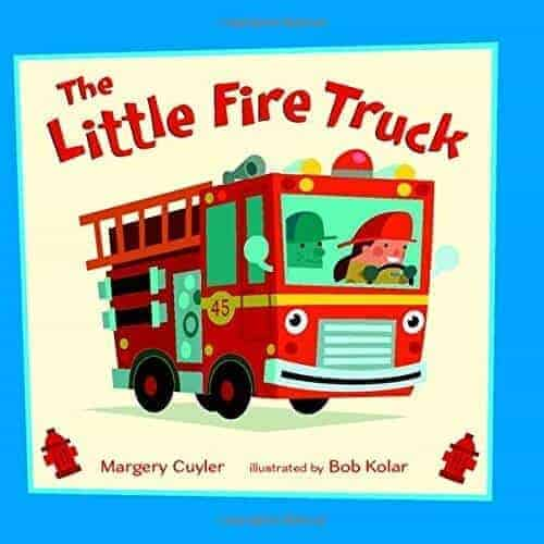 the little fire truck a kids book about fire engines