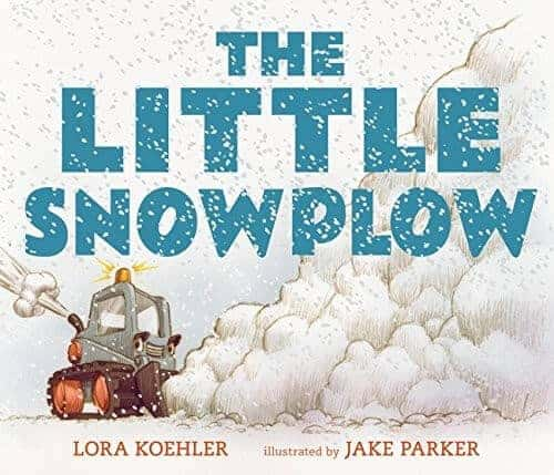 the little snowplow book for kids about trucks and cars