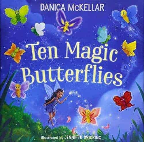 ten magic butterflies book for kids