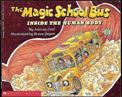 the magic school book about the human body