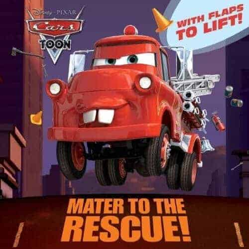 mater-to-the-rescue a book about a fire truck