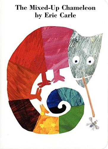 The mixed up Chameleon by Eric Carle Kids book