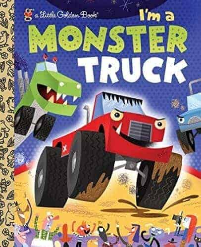 I'm a monster truck book for kids to read