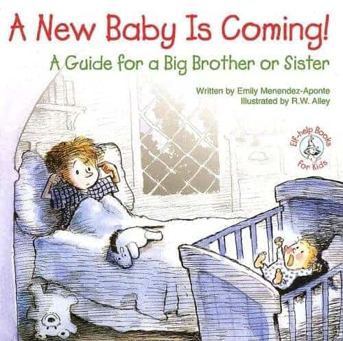 a new baby is coming. A guide for a big brother or big sister