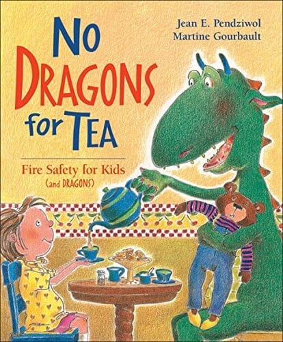 no dragons for teas fire safety tips