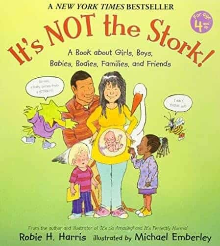 it's not the stork. childrens book about the human body