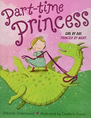 part-time-princess kids book about princesses
