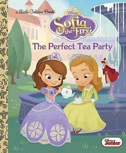 sofia and the tea party princess book for kids