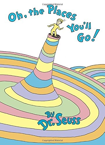 oh the places you'll go by dr suess